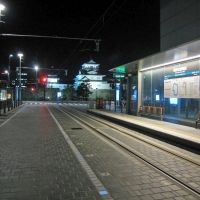 夜の電停, Камишии