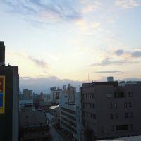 View from ANA Crowne Plaza Hotel, Камишии