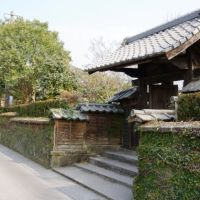 高岡天ケ城麓 安藤家武家門, Такаока
