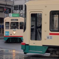 Tram in Toyama city, Уозу