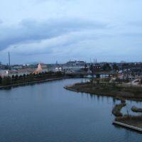 ふがん運河からの眺め 海側, Уозу