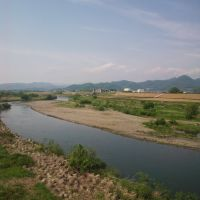 渡良瀬川 川崎橋より, Такефу