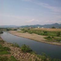 渡良瀬川 川崎橋より, Тсуруга