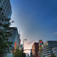 Sunset in Tenjin, Кавасаки