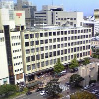 福岡中央郵便局 Fukuoka Chuo Post Office, Ногата