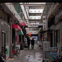 Arcade of Shin-Nagahama building, Ногата