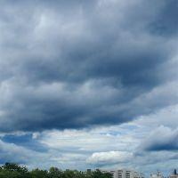 Ohori Park in Clouds, Ногата