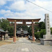 福島稲荷神社鳥居、Torii gate of Fukushima Inari-jinja shrine, Иваки