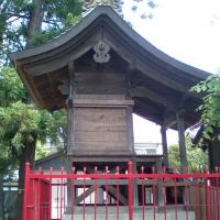 神明-jinja Shrine Main Hall, Иваки