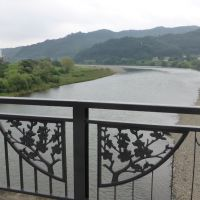 Abukuma River ( Watari  Long‐Bridge ), Иваки