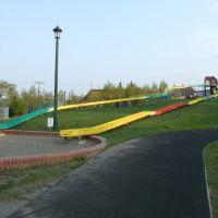 long slides, Абашири