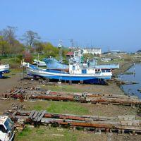 Abashiri dockyard, Абашири
