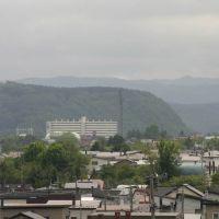 春光町から中の島の公営住宅方向, Китами