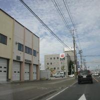 午前9時、国道39号、緑園通り交差点手前, Китами