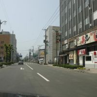 北4条通り、パレスビルの前, Китами