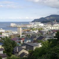 小樽築港遠望 View of Otaru port, Отару