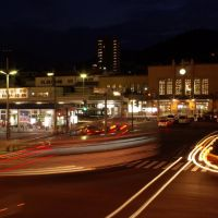 夜の小樽駅 Night of Otaru station, Отару