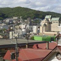 小樽市街俯瞰図 View of Otaru city, Отару