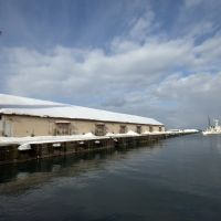 Wharf in Otaru, Отару