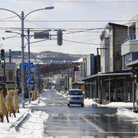 Straßenszene in Rumoi,Hokkaido, Румои
