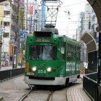 Sapporo tramway, Саппоро