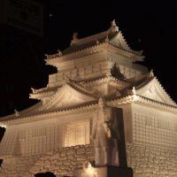 Matsumoto-jo Snow Sculpture at Night, Саппоро