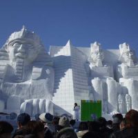 Relics of Egypt - Sapporo Snow Festival, Саппоро