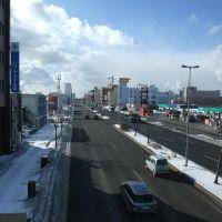 Route-36 in Tomakomai city (国道36号線@苫小牧市末広3丁目), Томакомаи