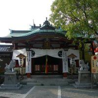 Ohama Hachiman Jinja Shrine 尾浜 八幡神社 拝殿, Амагасаки