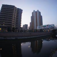 庄下川とスカイウェイ, Амагасаки