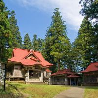 Shirahige Shrine (白髯神社), Ашия