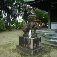 Hachiman Jinja Shrine 八幡神社 狛犬 吽形, Итами