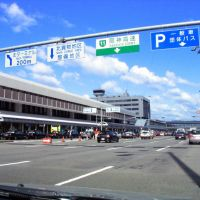 Terminal Bldg., Itami Apt. in 2006. (伊丹空港), Итами