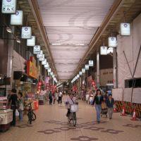 岡町の桜塚商店街, Итами