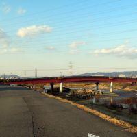 Inagawa River, Amagasaki / 猪名川にかかる利倉橋, Итами