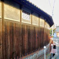 増本酒造の塀(明石市二見町), Какогава