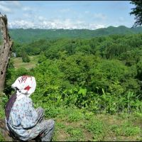 I was born 83 years ago in Ogawa Village, Нишиномия