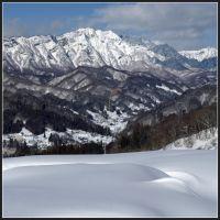 Winter scenery in Kinasa 2, Нишиномия