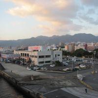 フェリーさんふらわあ 別府観光港へ入港 ちょうど日の出, Тоёока