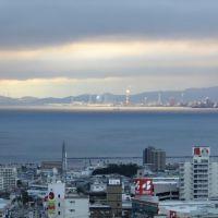 大分市内の朝焼け, Тоёока