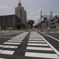 国道317号 / 愛媛県道157号 今治停車場線 [2011.05], Имабари