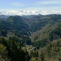 Hakubadake 白馬岳, Озу