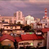 夕陽に染まる街並: Yamagata City Twilight, Иамагата