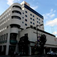 交差点より山形グランドホテルを眺む, Иамагата