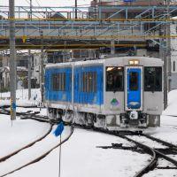 JR East KiHa 101 at Yamagata 2008, Иамагата