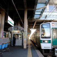 山形駅プラットフォーム, Саката