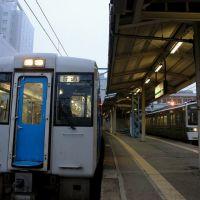 JR山形駅プラットフォーム: Yamagata Station Platform, Тендо