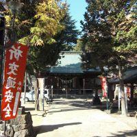 豊烈神社、Horetsu-jinja shrine, Тендо