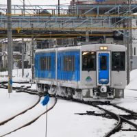 JR East KiHa 101 at Yamagata 2008, Тсуруока