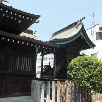 日枝神社御本殿、Hie jinja shrine honden, Тсучиура